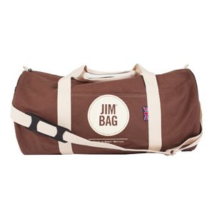 5fe0d1271a Jimbag Chocolate Holdall Bag ...
